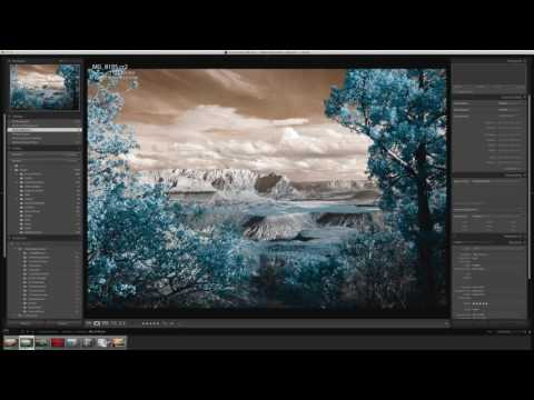 Infrared Editing with Lightroom