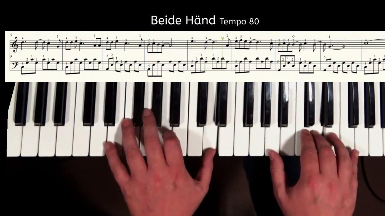 wham last christmas klavier lektion piano tutorial klavier spielen lernen youtube. Black Bedroom Furniture Sets. Home Design Ideas