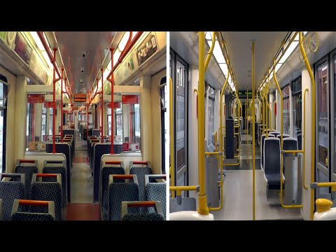 Manchester Metrolink Tram Ride Contrasts Youtube