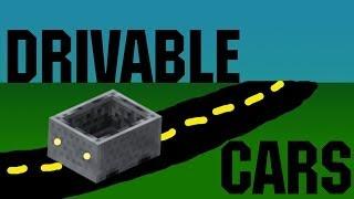 Minecraft Drivable Car! (Vanilla) 1.8