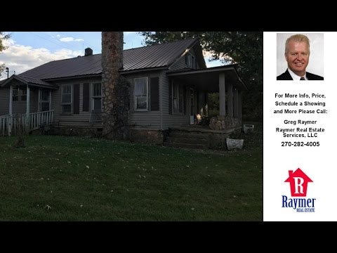 3263 Sulphur Well Knob Lick Rd., Center, KY Presented by Greg Raymer.