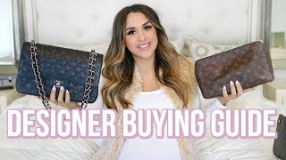 WHAT'S IN MY CHANEL BAG? + HOW I BUY PRELOVED DESIGNER! | ALEX GARZA