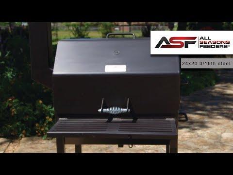 ASF 24x20 BBQ PIT 3/16th Construction