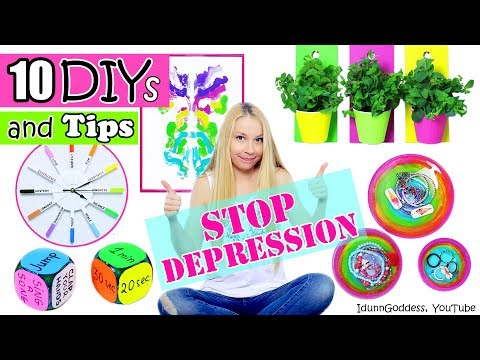 Thumbnail: 10 DIYs and Tips That Will Help You Stop Depression – DIY Room Decor And Cheer-Up Tips
