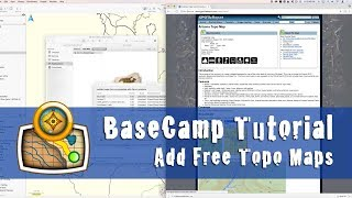 How to add free topo maps to Garmin BaseCamp