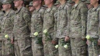 Maine Army National Guard 133rd Engineering Battalion returns home