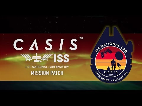 2017 ISS National Lab Mission Patch, Designed by Lucasfilm