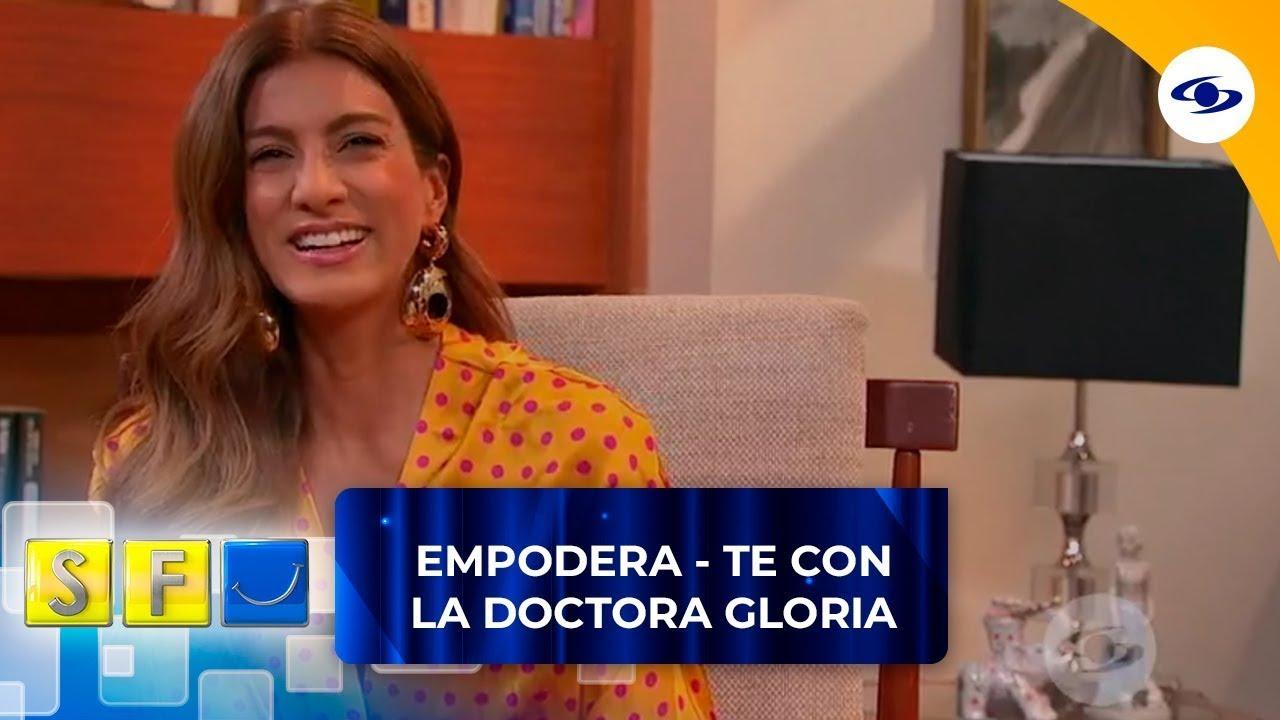 Andrea Serna llega con la mejor aura y energía al consultorio de la doctora Gloria