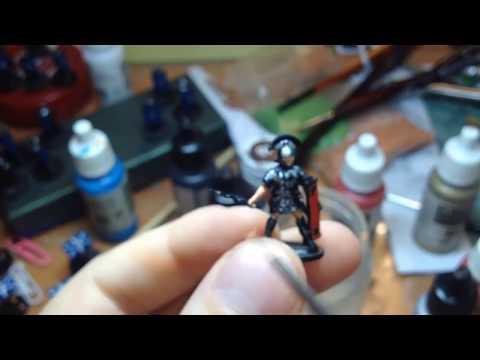 Как красить миниатюры солдатиков для настольного варгейма! (Мастерская солдатиков № 3)(How To Paint)