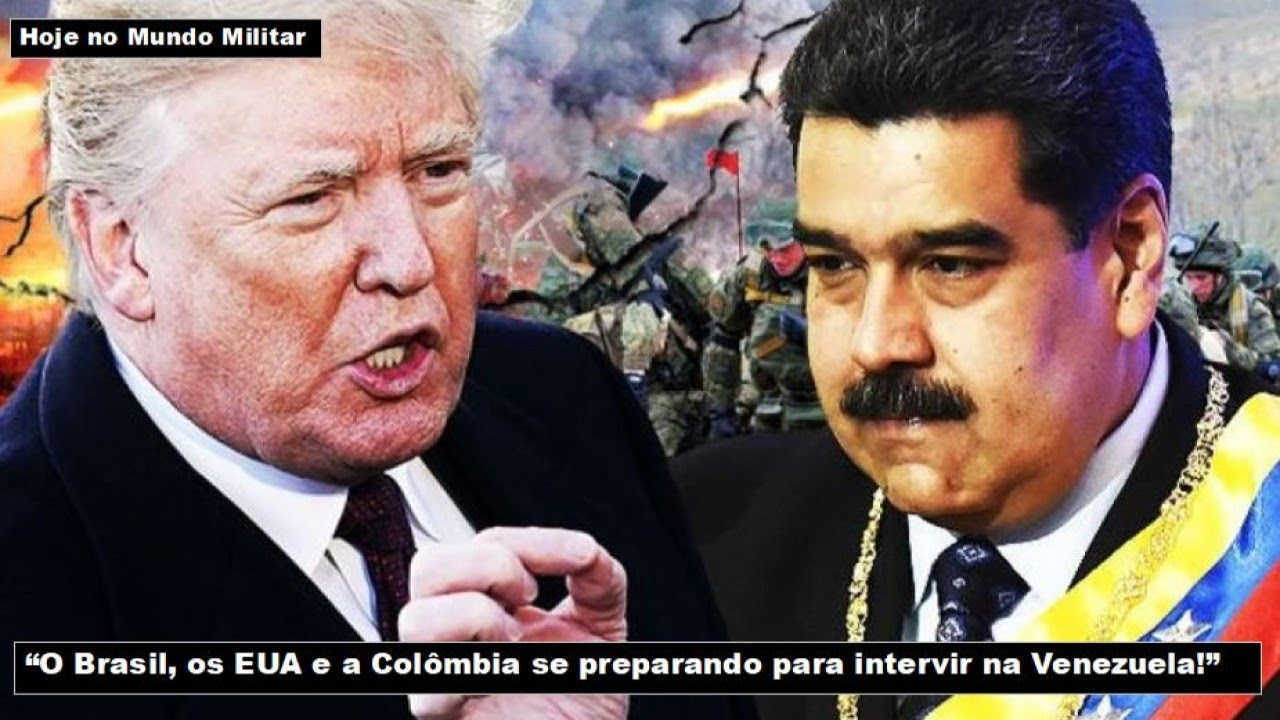 """""""O Brasil, os EUA e a Colômbia estão se preparando para intervir na Venezuela!"""""""