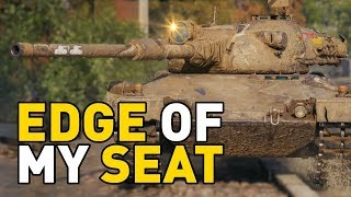 World of Tanks || EDGE OF MY SEAT!
