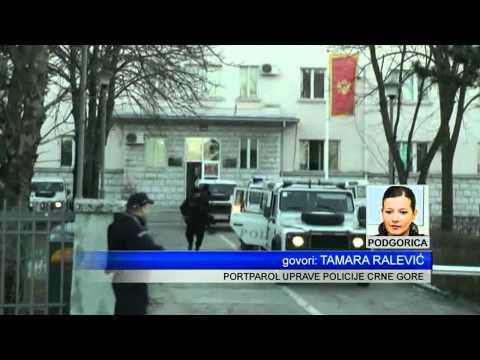 120115  HAPSENJE DILERA NIKŠIĆ - PRILOG TV VIJESTI