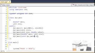 Обучение C++. Урок 30. Классы и ООП III