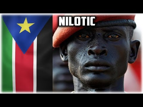 Who are the Nilotes? Tallest, Darkest and Thinnest People on