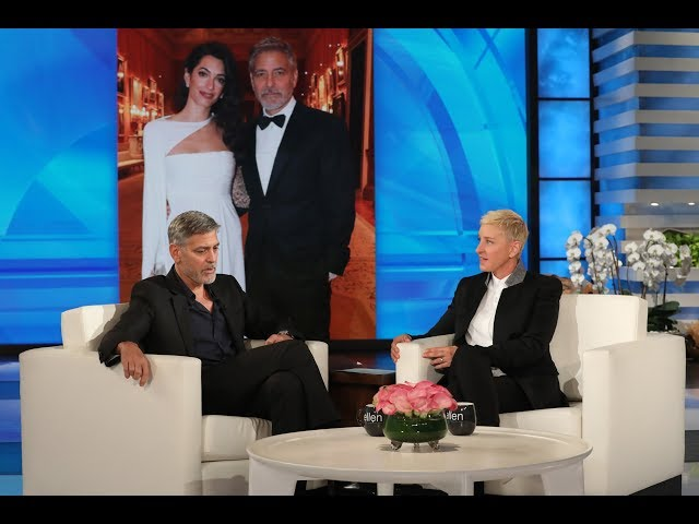 George Clooney\'s Twins Are Taking After Amal