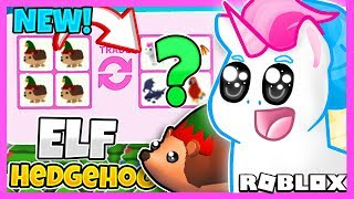 What Do People Trade For The *new* Elf Hedgehog In Adopt Me? Roblox Adopt Me Trading Challenge