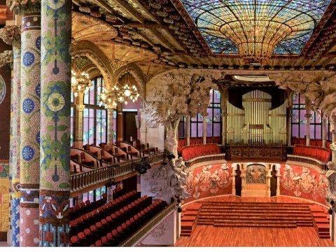 Barcelona Palau De La Música Catalana Hd Youtube