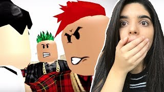 REACTING TO A ROBLOX BULLY STORY! | ROBLOX MOVIE  - Marshmello