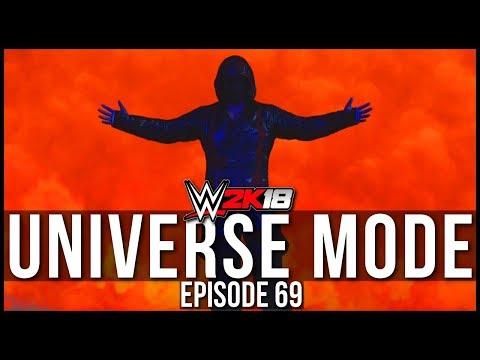 WWE 2K18 | Universe Mode - '3 STAR CAW SHOWCASE!' | #69