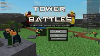 ROBLOX l NTC Game(Water) l Play homemade combo in 1 vs 1 l (Tower Battel)(Pro combo)(#3)