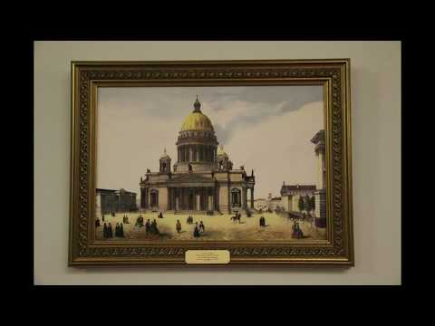 Views of Old Saint Petersburg in Paintings
