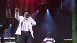 "JOHNNY OSBOURNE ""Rub A Dub~Little Sound Boy"" Reggae Geel, Belgium 2012"