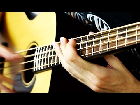 Download Youtube: ACOUSTIC BASS SLAP SOLO