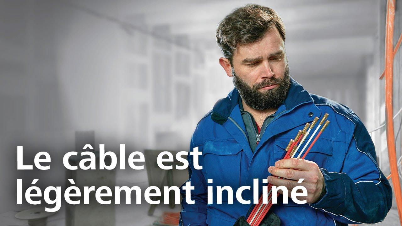 Passage De Cable Dans Cloison tire-fil cable scout+