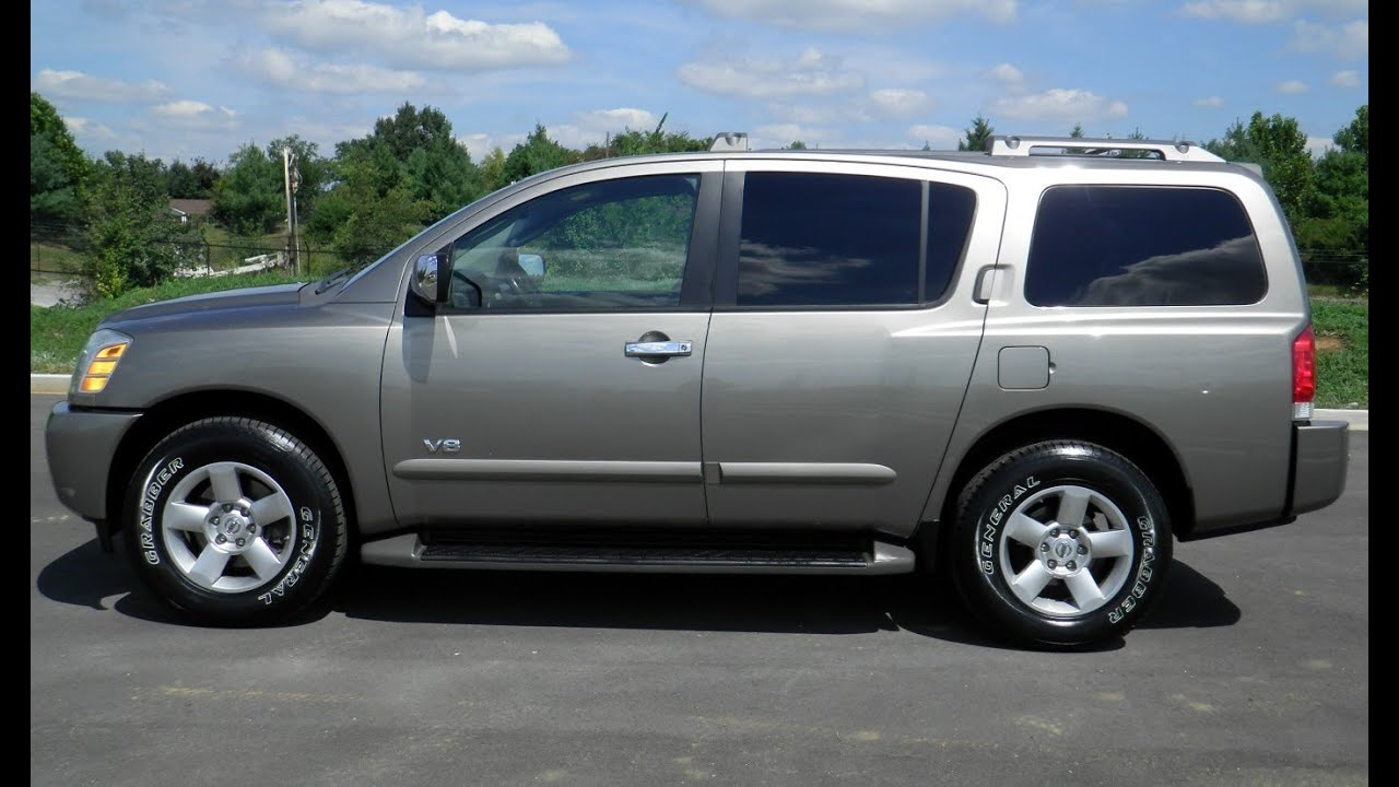 Sold 2007 nissan armada se 4x4 102k 8 passenger for sale wilson 2007 nissan armada se 4x4 102k 8 passenger for sale wilson county motors lebanon tn youtube vanachro Image collections