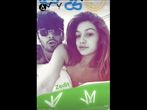 Gigi Hadid strips off for nude selfie with Zayn Malik