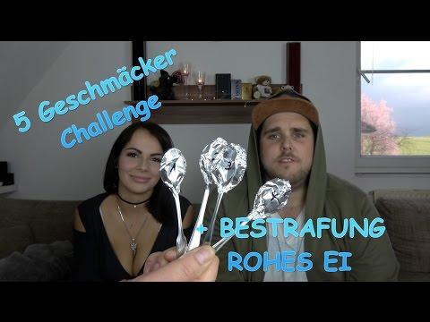 Die 5 Geschmäcker Challenge + BESTRAFUNG ROHES EI ESSEN! | Pascal & Jacky