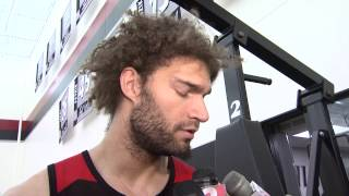 Practice Sounds: Lopez On Playing Against His Twin Brother