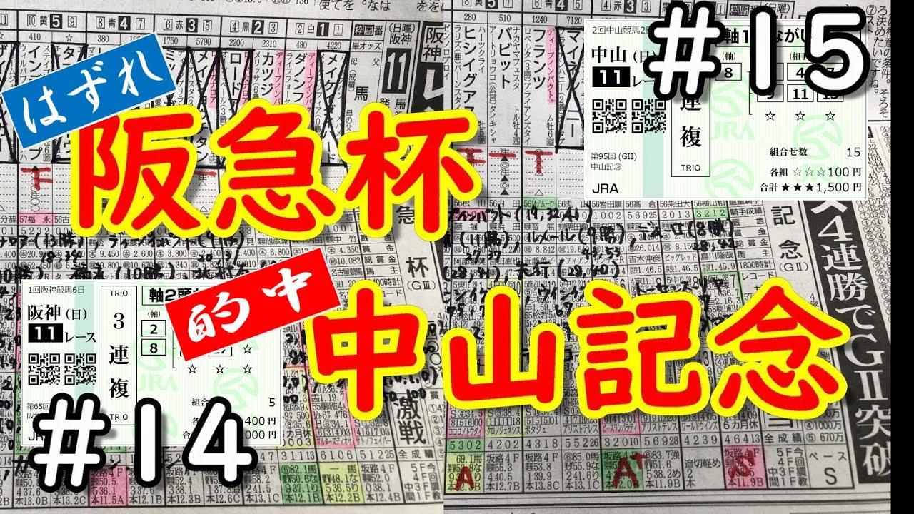 【中山記念】【阪急杯】今週のまとめて購入馬券をアップします。