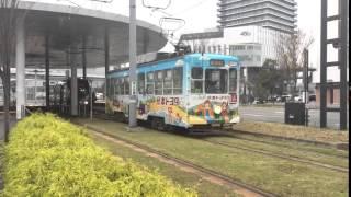 熊本の路面電車(熊本市電)の1350形
