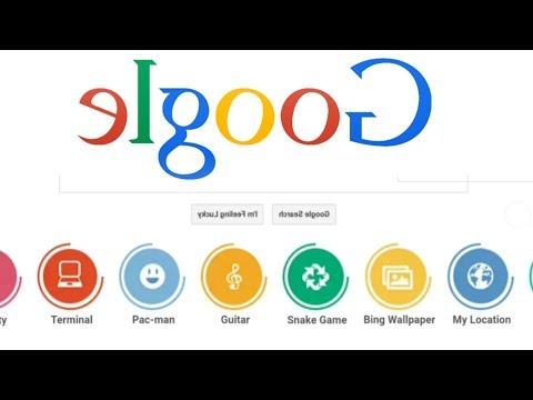 How to make google backwards/elgoog