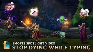 League of Legends - Emotes Spotlight Gameplay Video