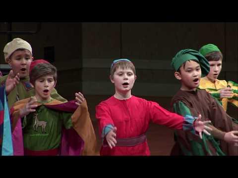 Benjamin Britten - A Ceremony of Carols (Op. 28) - Texas (USA) Boys' Choir