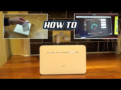 How to Setup Mobile Broadband Router ( 4G LTE ) for Beginners