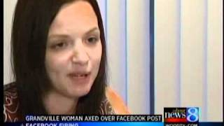 Mom fired over Facebook status