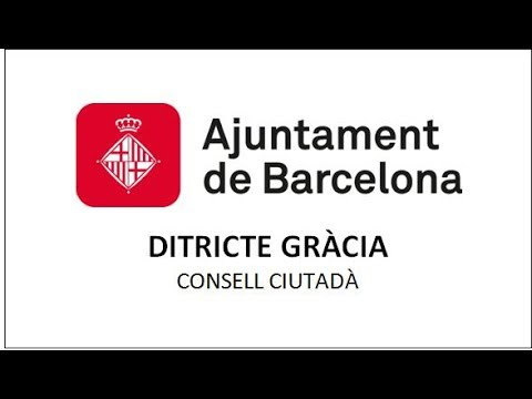 Consell Ciutadà Districte de Gràcia 06-07-2017