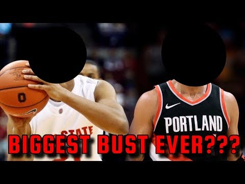 The BIGGEST BUST In NBA History That NOBODY TALKS ABOUT