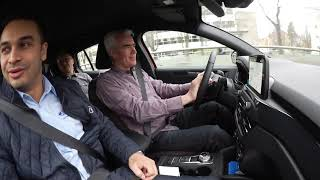 Ford Focus - koeajokokemukset Auto 2018 -tapahtumassa.