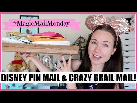 DISNEY PIN MAIL OPENING! My Number 1 GRAIL! #MagicMailMonday | November 5, 2018