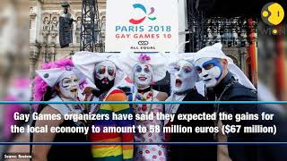 Paris hosts Gay Games amid surge in anti-gay aggression in France