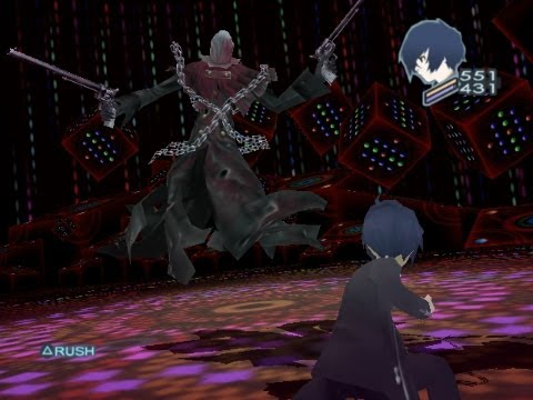 Persona 3 FES Mod - No Weapons Vs The Reaper