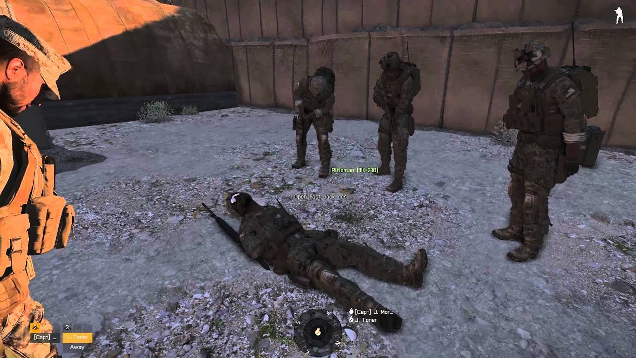 arma 3 how to use morphine