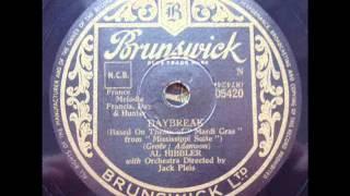 AL HIBBLER - DAYBREAK - Brunswick 5420 (1955) DoGramofonuPL