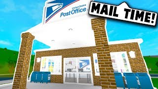 I MADE A POST OFFICE ON BLOXBURG! (Roblox Bloxburg) Roblox Roleplay