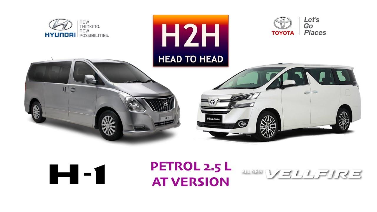 hyundai h1 vs volkswagen