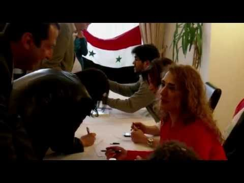 Prague: Syrian expats vote in presidential election 4